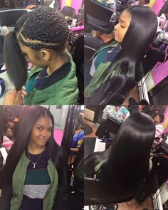 Middle part sew in hair pinterest middle hair style and straight weave pmusecretfo Image collections