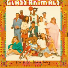 The Glass Animals -- How to Be a Human Being Genre: Indie/Rock Aesthetic Images, Red Aesthetic, Autumn Aesthetic, Photo Wall Collage, Picture Wall, Cool Album Covers, Album Of The Year, Psychedelic Rock, Music Wall