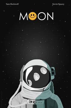 Moon movie poster by Nina Stackhouse