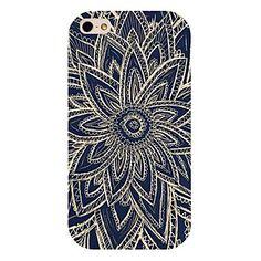 zwarte bloem patroon achterkant van de behuizing voor de iPhone 4 / 4s – EUR € 1.91