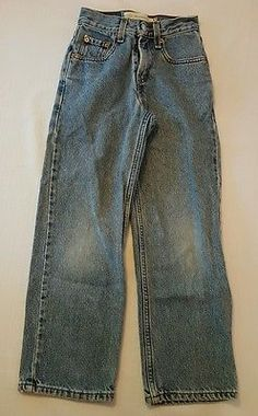 HUGE BACK TO SCHOOL SALE!  Boys Levis 550 Relaxed Fit Blue Jeans Size 9 Slim #220