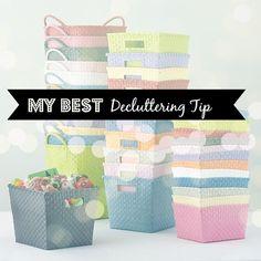 My best decluttering tip