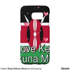 """I Love ! Kenya Hakuna Matata  #Top departments for """"hakuna matata Kenya flag #colors"""""""