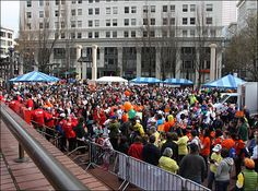 Photos: Walk MS Oregon crowd fills Pioneer Courthouse Square