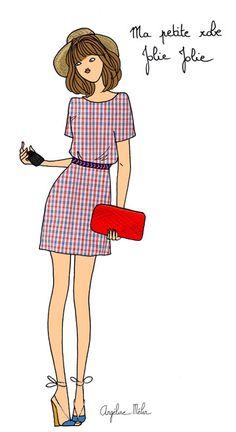 Pretty little dresses http://www.doitinparis.com/fr/mode-femme/le-look-de-la-semaine/des-petites-robes-trop-jolies-1887 #fashion #summer #petitemendigote