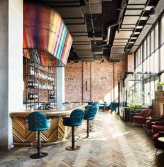 Tour a cool new Williamsburg hotel filled with local artwork: If it's possible, it seems the New York City neighbourhood of Williamsburg just got even cooler with the opening of The Williamsburg Hotel — a new eleven-storey boutique hotel that looks right at home with it's industrial-style brick exterior.