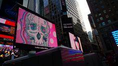 Lüthårt | Skull No. 13.2 @ Art Takes Times Square | NYC | 06/18/12 by CJSC, via Flickr