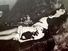 Opium Den: Paris, 1930s. Part of the over privileged lifestyle that Mary lives.