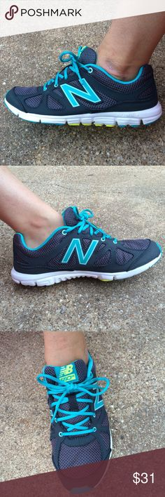 New balance Women's new balance tennis shoes. Dark gray and turquoise. Size 7.5 New Balance Shoes Athletic Shoes