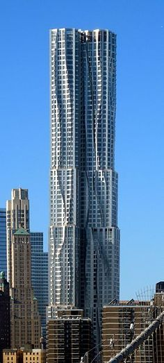 Beekman Tower, NYC #Frank Gehry   ..rh