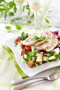 Chicken salad american style