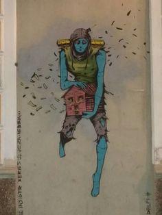 Street art mural (Torrevieja) by Deih.