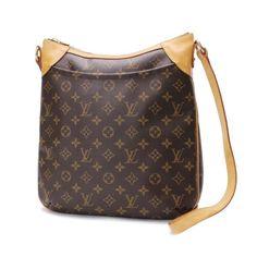 Louis Vuitton Odeon MM Monogram Shoulder bags Brown Canvas M56389