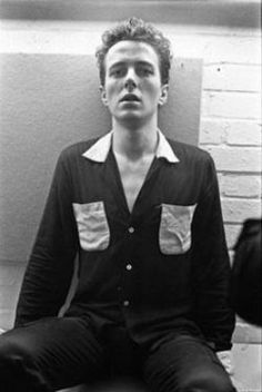 #Joe Strummer--played with the Pogues one time when I saw them.  Amazing.