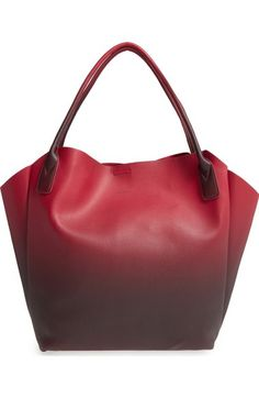 765a51f96d17 Pixie Mood  Rachel  Ombré Faux Leather Tote available at  Nordstrom Pixie