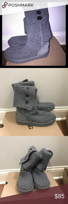 Ugg Cardy Grey Size 6 New in box Ugg Brand Cardy style  Grey Size 6 New in box UGG Shoes Winter & Rain Boots