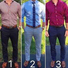 Which one is your favorite 1 2 or 3 Follow @DapperConcept for more! Courtesy of @chrismehan