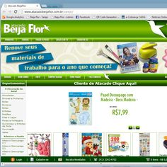 <3LOJA<3Atacado Beija Flor – Artesanato e Decoração. venda de artigos para artesanato