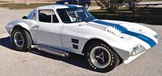 "Chevrolet actually made 5 Grand Sport Corvettes with a plan to build many more, but the program was cancelled. It was designed to compete with the Ford Shelby Cobra in racing. Superperformance builds these as an authorized ""continuation"" of the model and is built exactly as the body shape originally came."
