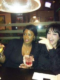 Nicole and I. Clearly I was talking about somebody! Lol
