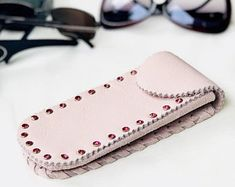 Handmade genuine leather bags and glasses cases by GaLaCraftStudio Cell Phone Holder, Phone Cases, Leather Case, Gifts For Women, Eyeglasses, Eyewear, Sunglasses Case, Etsy Seller, Pouch