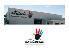 rotulación exterior Artesania.