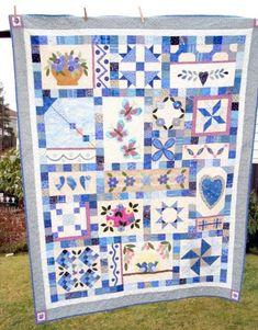 Bildergebnis für sampler quilt