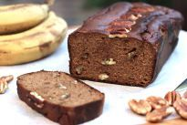 Paleo Banana and Peacan Bread