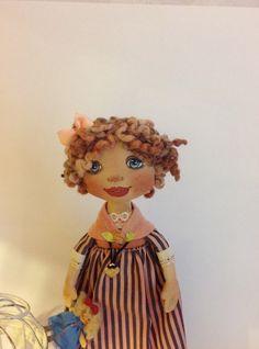 Cloth dolls-Fabric dolls-Art doll-Rag doll-OOAK doll-Stuffed doll-interior dolls-Collecting doll-Textile dolls-Cloth art doll-Soft doll-Doll