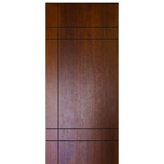 Shop for GlassCraft Inglewood FG, contemporary flush fiberglass entry door with modern grooves design. Crafted with authentic and realistic mahogany wood grains Flush Door Design, Home Door Design, Front Door Design Wood, Bedroom Door Design, Door Design Interior, Wooden Door Design, Main Door Design, Bedroom Doors, Interior Doors
