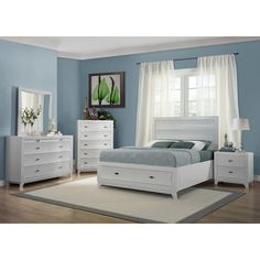 Addison White Bedroom Set - King - 6 pc. - Sam\'s Club | My Bedroom ...