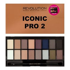 Iconic Pro 2 Eyeshadow Palette from Makeup Revolution. $12.57.