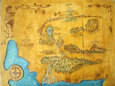 The map of Idelmir.
