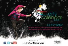 Let ArtsCalendar.com be your guide to the arts & entertainment in Greater Fort Lauderdale