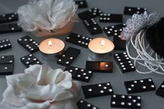 How to Use Dominoes As a Party Theme | eHow 60th Birthday Party, 30th Party, Diy Party, Party Gifts, Birthday Ideas, Havana Party, Havana Nights Party, Casino Theme Parties, Casino Party