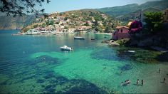 Assos, Kefalonias, Ionian sea, Greece