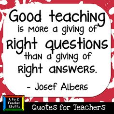 What is teaching? - GREAT quote! LOVE this one!!!!!!!