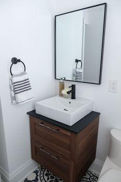 Powder Room Property Brothers, Powder Room, Vanity, Bathroom, Design, Home, Ideas, Siblings, Trough Sink