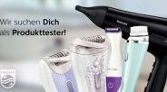 100 Tester für Philips Beauty-Produkte