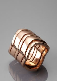 Rose Gold Set of 5 Stackable Rings