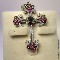 Antique Silver Cross