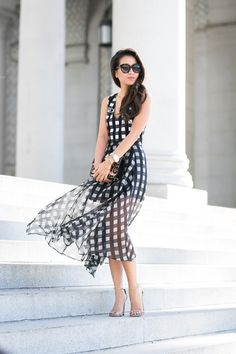 Moves like a Dream :: Checkmate print & Leo bag :: Outfit :: Top :: thanks to Marissa Webb! Bottom :: thanks to Marissa Webb! Bag :: Valentino Shoes :: Stuart Weitzman Accessories :: Chanel pin, Michele watch, Brandy Pham bracelets, Karen Walker sunglasses Published: February 9, 2015