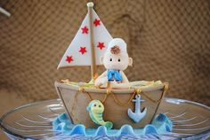 Nautical Baby Shower Cake an other nautical theme ideas