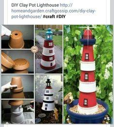 Lighthouse for the garden