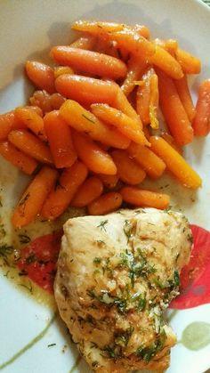 Zobacz zdjęcie Marchewki z miodem i cynamonem + duszona pierś zdrowe i pożywne danie w pełnej rozdzielczości