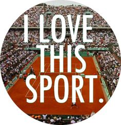 "<3 tennis #tennisquotes // Rolling Hills Country Club.. ""amo este deporte"""