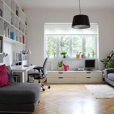 My Houzz: Poupetova, Prague - contemporary - Home Office - Other Metro - Martin Hulala