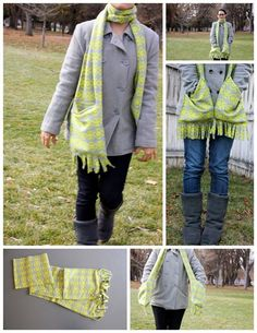 Deep Pocket Scarf. It's a REALLY cool idea!.. But I don't see me WRAPPING IT AROUND my neck.  I think that it would feel like a (softer) choker chain.