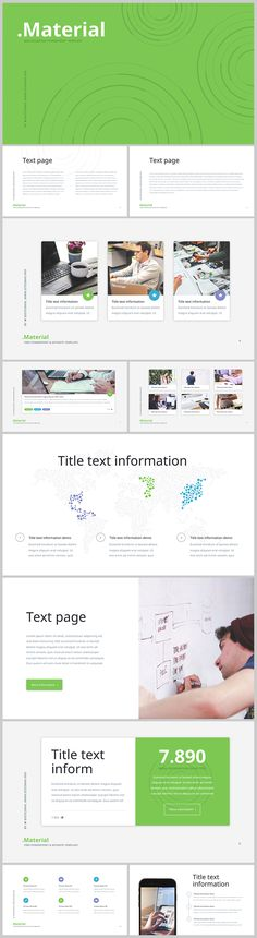 FREE PowerPoint template: http://site2max.pro/material-free-ppt-template/ #ppt #pptx #material #download #free #freebies