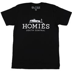 """Brian Lichtenberg """"Homies"""" Collection UpscaleHype ❤ liked on Polyvore featuring shirts, tees, tops and t-shirts"""